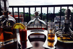 Shirleys-Cafe-tequila-flight-patio